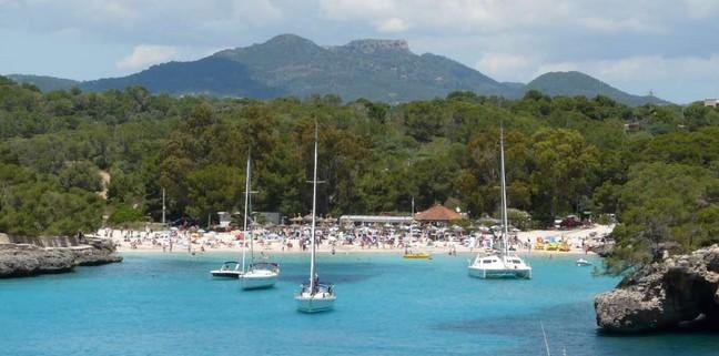 Пляж мондраго