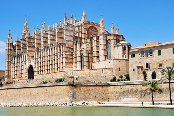 Cathedral Of Palma De Majorca, Spain