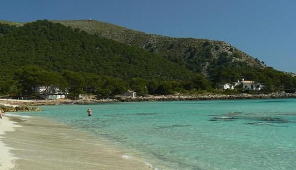 Пляж Cala Aguilla